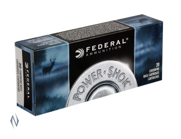 FEDERAL 243 WIN 100GR SP POWER-SHOK