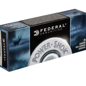 FEDERAL 243 WIN 80GR SP POWER-SHOK