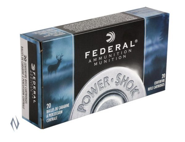 FEDERAL 30-06 SPR 150GR SP POWER-SHOK