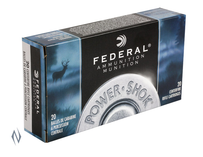 FEDERAL 30-30 WIN 125GR JHP POWER-SHOK