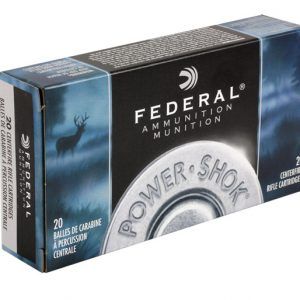 FEDERAL 7MM MAUSER 140GR SP POWER-SHOK