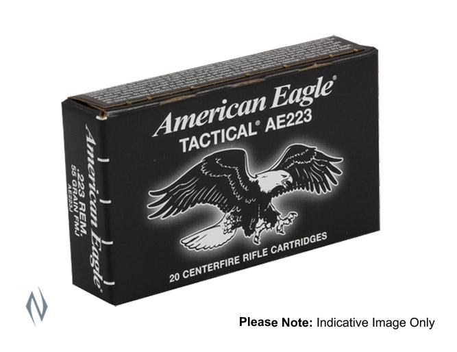 FEDERAL 223 REM 50GR JHP AMERICAN EAGLE
