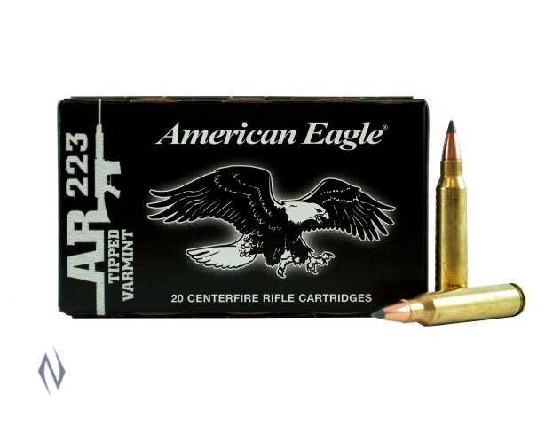 FEDERAL 223 REM 50GR TIPPED VARMINT AMERICAN EAGLE