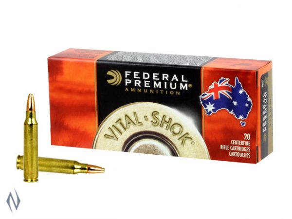 FEDERAL 223 REM 52GR SPEER HP