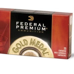 FEDERAL 308 WIN 168GR MATCHKING GOLD MEDAL